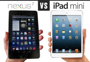 ipad mini VS nexus-7