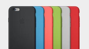 I nuovi case in silicone per gli iPhone 6