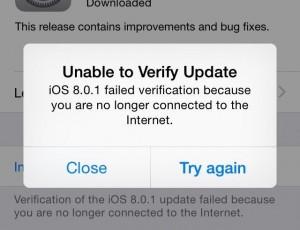 iOS 8.0.1 Ritirato