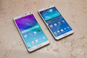 Samsung Galaxy Note 4 si piega