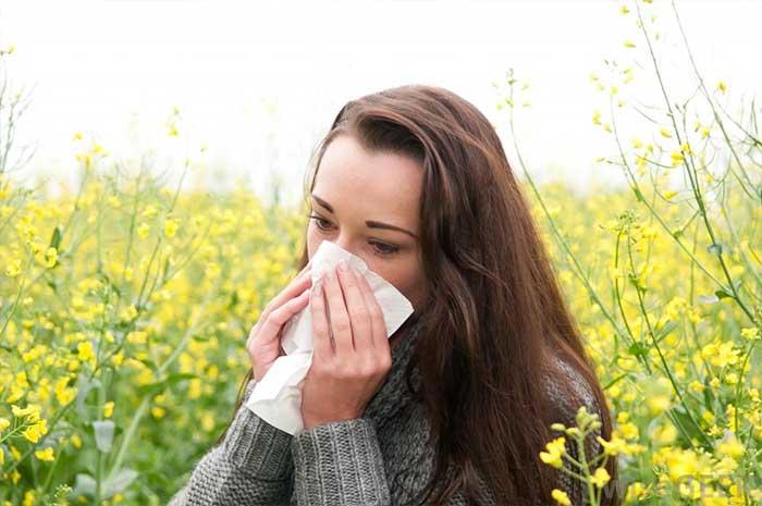 Allergie al polline in aumento la concentrazione di CO2