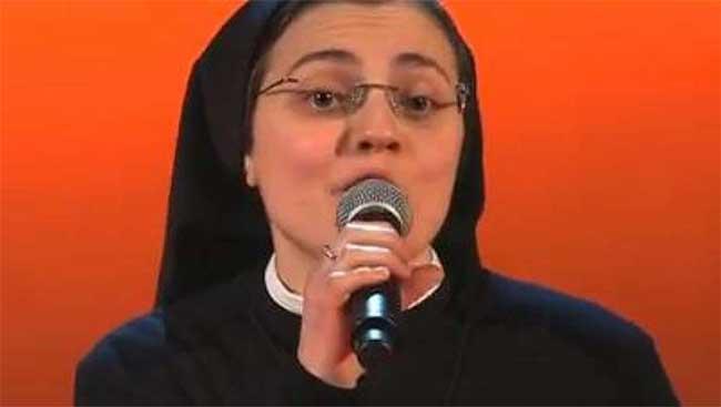 Suor Cristina arriva il primo album Sister Cristina