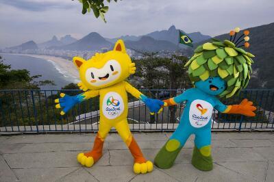 Che mascotte Rio 2016