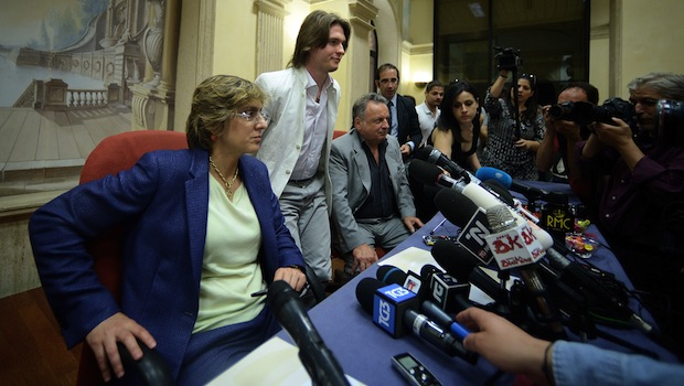 ITALY-BRITAIN-CRIME-US-MURDER-PRESSER-SOLLECITO