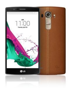LG lancia G4, smartphone con retro in pelle