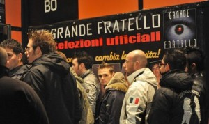 Longarone 12 dicembre 2008 discoteca KUBO selezioni , provini per IL GRANDE FRATELLO 2009  (adri)