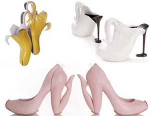 Queste scarpe sono tutte creazioni di Kobi Levi