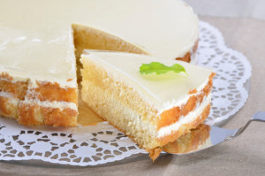 torta crema yogurt