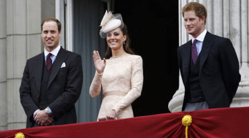 tra william e kate c'è harry