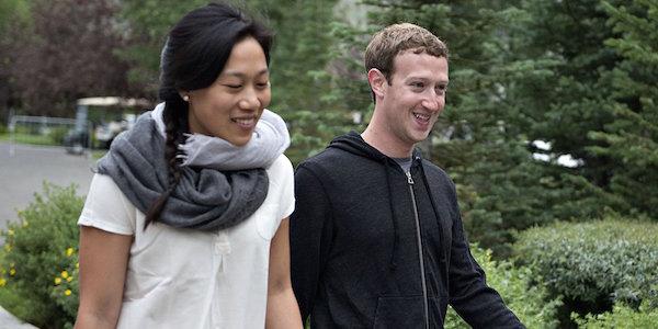 zuckerberg chan presto genitori