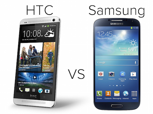 htc vs samsung