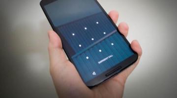 Sblocco smartphone Android con sequenza ad alto rischio violazione