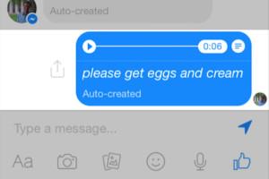 Whatsapp- come cambiare il messaggio vocale in testo