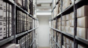 archivio cartaceo